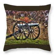 War Thunder - The Morris Artillery Page's Battery Oak Hill Gettysburg Throw Pillow