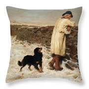 War Time Throw Pillow