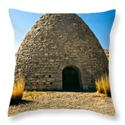 Ward Charcoal Oven Throw Pillow