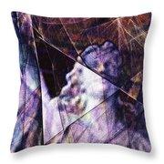 Warehouse Angel / Through The Broken Glass Throw Pillow