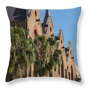 Warehouse In The Rocks Throw Pillow