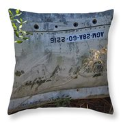 Warhead Compartment Throw Pillow