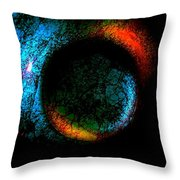 Warm And Cold Throw Pillow