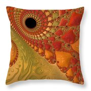 Warm And Earthy Throw Pillow