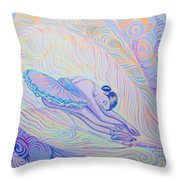 Warm And Secure Place For Your Soul Throw Pillow
