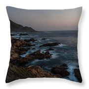 Warm California Evening Throw Pillow by Mike Reid