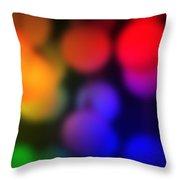 Warm Colors Throw Pillow