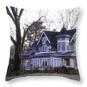 Warm Springs Avenue Home Series 4 Throw Pillow