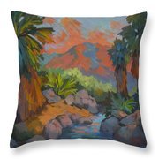 Warm Summer Afternoon 2 Throw Pillow