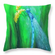 Summer's Day Throw Pillow