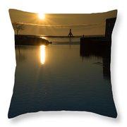 Warming Sun Vertical Throw Pillow