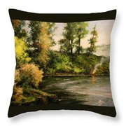 The Bottoms - Warming Up Throw Pillow