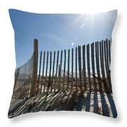 Warmth From Above Throw Pillow by Michelle Wiarda