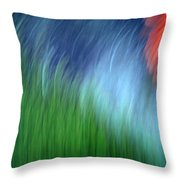 Warmth Of The Heart Throw Pillow