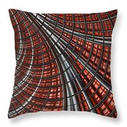 Warp Core Throw Pillow