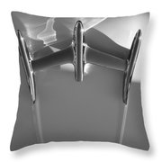 Warp Drive - Star Trek Abstract Throw Pillow by Steven Milner