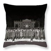 Warren Harding Elected President Election Night National Photo Co. White House Washington D.c.1920 Throw Pillow