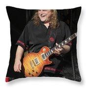 Warren Haynes Throw Pillow