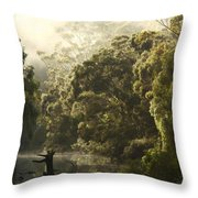 Warren River - Western Australia 2am-113012 Throw Pillow