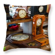Warrenton Antique Days A Moment In Time Throw Pillow