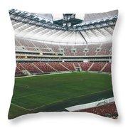 Warsaw Stadion Throw Pillow