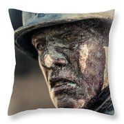 Wartime Thoughts Throw Pillow