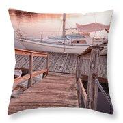 Warwick Marina Park Throw Pillow