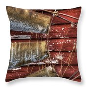Was Wind Driven Throw Pillow