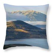 Wasatch Dawn Throw Pillow