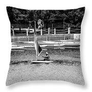 Wascana-12 Throw Pillow