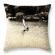 Wascana-18 Throw Pillow
