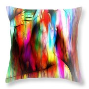 Washing Out The Memories Throw Pillow