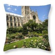 Washington Cathedral 3 Throw Pillow