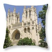 Washington Cathedral 5 Throw Pillow