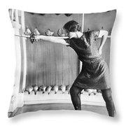 Washington Champion Fencer Throw Pillow