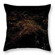 Washington Dc At Night II Throw Pillow