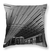 Washington Dc Metro Throw Pillow