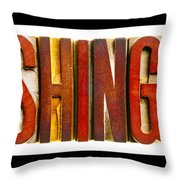 Washington Throw Pillow