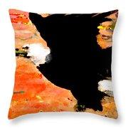 Washington Eagle Throw Pillow