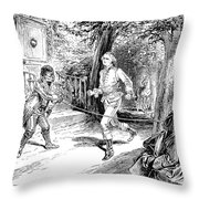 Washington Exercise Throw Pillow