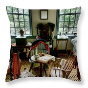 Washington Headquarters Office Throw Pillow by Olivier Le Queinec