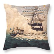 Washington In New York Throw Pillow