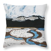 Washington Lake Throw Pillow