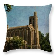 Washington Memorial Chapel Throw Pillow