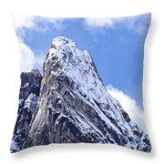 Washington Pass Peak Throw Pillow