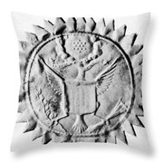 Washington Seal Throw Pillow