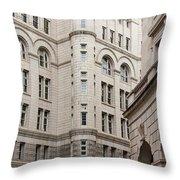 Washington Buildings Throw Pillow