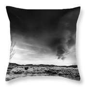 Washoe Clouds Throw Pillow