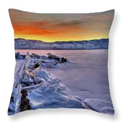 Washoe Ice Throw Pillow