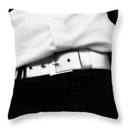 Wasted Touches  Throw Pillow